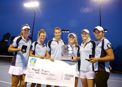 Asia Pacific Tennis League Champions