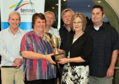Tennis SA Metro Club of Year Award